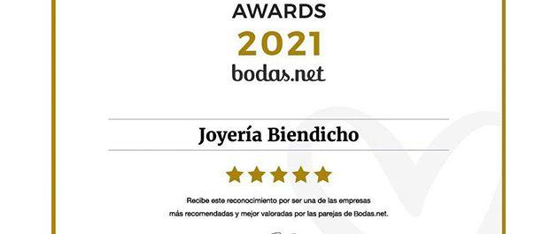 Wedding Awards 2021 Joyería Biendicho